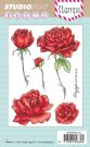 Studio Light A6 Clearstamp Set - Roses 137