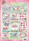 Studio Light A4 Die-Cut Bloc - Colorful Garden #31 (12 sheets)