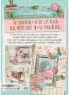 Studio Light A4 Die-Cut Bloc - Romantic Vintage #44 (12 sheets)