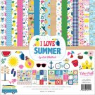 "Echo Park 12""x12"" Collection Kit - I Love Summer (13 sheets)"