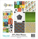 "Echo Park 12""x12"" Collection Kit - Soccer (6 papers + 1 sticker sheet)"