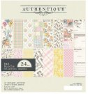 "Authentique 6""x6"" Cardstock Pad - Swaddle Girl (24 sheets)"