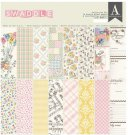 "Authentique 12""x12"" Collection Kit - Swaddle Girl (17 sheets)"