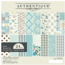 "Authentique 6""x6"" Cardstock Pad - Swaddle Boy (24 sheets)"