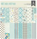 "Authentique 12""x12"" Collection Kit - Swaddle Boy (17 sheets)"