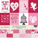 "Authentique 12""x12"" Collection Kit - Sweetheart (13 sheets)"