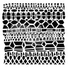 "Crafters Workshop 6""x6"" Template - Modern Lace"