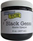 Crafters Workshop Gesso - Black (237 ml)