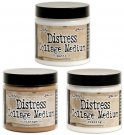 Tim Holtz Distress Collage Mini Mediums - Vintage, Matte & Crazing (3 pack)