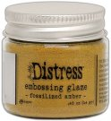 Tim Holtz Distress Embossing Glaze - Fossilized Amber