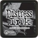 Tim Holtz Distress Mini Ink Pad - Black Soot