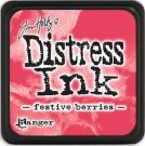 Tim Holtz Distress Mini Ink Pad - Festive Berries