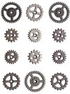 Tim Holtz IDEA-OLOGY Mini Gears (12 pack)