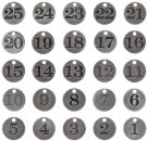 Tim Holtz Idea-Ology - Countdown Coins (25 pack)