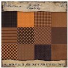 "Tim Holtz Idea-Ology 8""x8"" Paper Stash Double-Sided Paper Pad - Halloween #2 (24 sheets)"