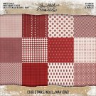"Tim Holtz Idea-Ology 8""x8"" Kraft Stock Cardstock Pad - Christmas (24 sheets)"