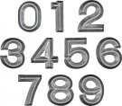 Tim Holtz Idea-Ology Metal Numbers (10 pack)