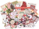 Tim Holtz Idea-Ology Ephemera Pack - Christmas (58 pack)