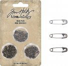 Tim Holtz Idea-Ology Mini Metal Safety Pins (48 pack)