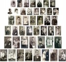 Tim Holtz Idea-Ology Found Relative Vintage Portraits (45 pack)