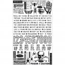 Tim Holtz Idea-Ology - Halloween Remnant Rubs (2 pack)
