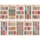 Tim Holtz Idea-Ology - Ticket Book Stickers (335 pack)