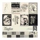 "Authentique 12""x12"" Collection Kit - Timeless (17 sheets)"