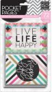Me & My Big Ideas Pocket Pages Themed Cards - Peony Love (72 pack)