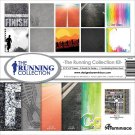 "Reminisce 12""x12"" Collection Kit - Running (11 sheets)"