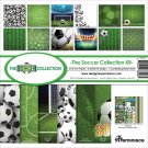 "Reminisce 12""x12"" Collection Kit - Soccer (13 sheets)"