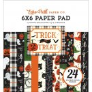 "Echo Park 6""x6"" Paper Pad - Trick or Treat (24 sheets)"