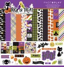 "PhotoPlay 12""x12"" Collection Pack - Trick or Treat (13 sheets)"
