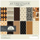 "Authentique 8""x8"" Cardstock Paper Pad - Twilight (24 sheets)"