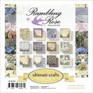 "Ultimate Crafts 6""x6"" Paper Pad - Rambling Rose (24 sheets)"