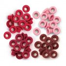 We R Memory Keepers - Red Standard Eyelets (60 pack)