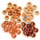 We R Memory Keepers - Orange Standard Eyelets (60 pack)