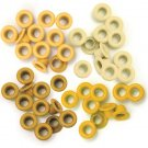 We R Memory Keepers - Yellow Standard Eyelets (60 pack)
