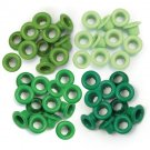 We R Memory Keepers - Green Standard Eyelets (60 pack)