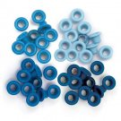 We R Memory Keepers - Blue Standard Eyelets (60 pack)