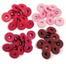 We R Memory Keepers - Red Wide Eyelets (40 pack)
