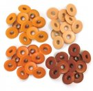 We R Memory Keepers - Orange Wide Eyelets (40 pack)