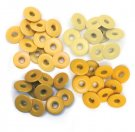 We R Memory Keepers - Yellow Wide Eyelets (40 pack)