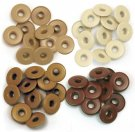We R Memory Keepers - Brown Wide Eyelets (40 pack)