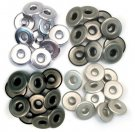 We R Memory Keepers - Cool Metal Wide Eyelets (40 pack)