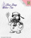 Nellies Choice Clearstamp - Winter Time Snowman