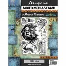 Stamperia Mixed Media Stamps - Lady