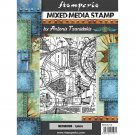 Stamperia Cling Mounted Natural Rubber Stamps - Mechanism, Sir Vagabond