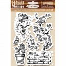 Stamperia Cling Mounted Natural Rubber Stamps - Enjoy