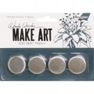 "Wendy Vecchi MAKE ART Stay-tion 1"" Magnets (4 pack)"