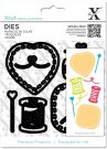 Xcut Die Set - Sewing Patches (8 dies)